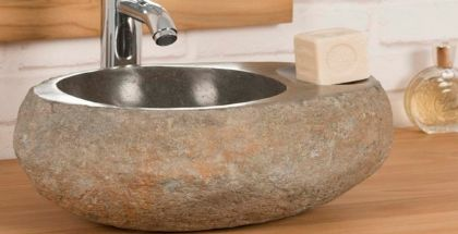 Stone Bathroom Sink