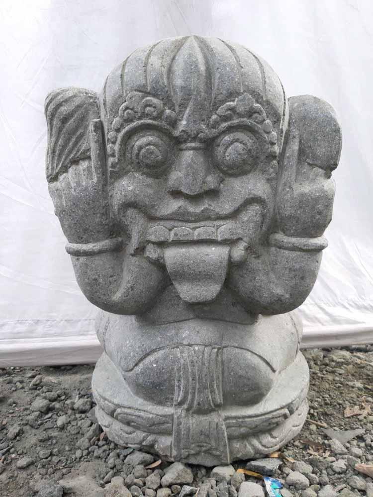 Ganesh stone outdoor garden statue 50 cm