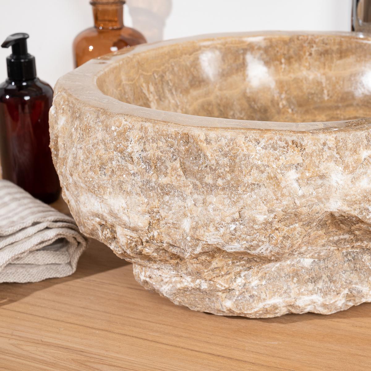 Onyx Stone Countertop Sink L 30 35 Cm